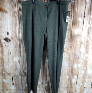Rafaella Plus Dress Pants Trousers Slacks